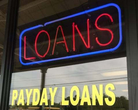 Cash Tyme Payday  loans Batesville neon